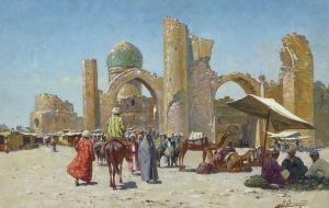 Samarkand in the year 1000