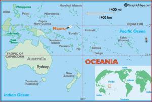 Nauru Map