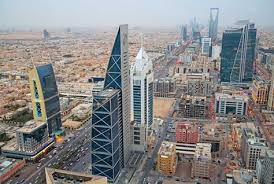 Crowded modern city
